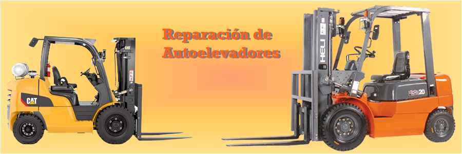 reparación de autoelevadores